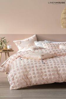 Haze Peach Bedset by Linen House