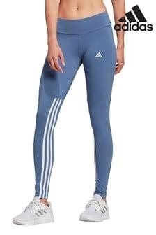 adidas 3 Stripe Sport Fashion High Waisted Leggings