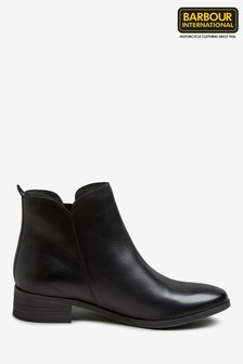 Barbour® International Penelope Black Boot