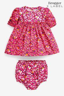 Brogger x Label Pink Dress Set