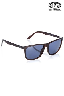 Animal Brown Inflame II Square Matte Finish Sunglasses