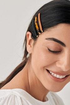 Aela Matte/Tort Mix Hair Slides