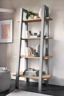 Grey  Malvern Ladder Shelf