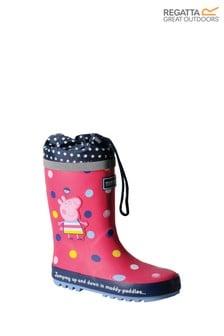 Regatta Pink Peppa Pig™ Splash Wellies