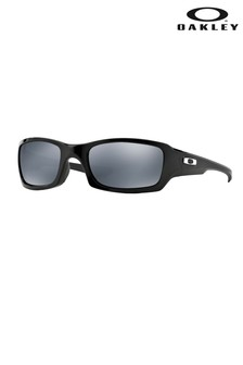 Oakley® Black Fives Square Sunglasses