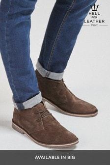 Khaki Desert Boots