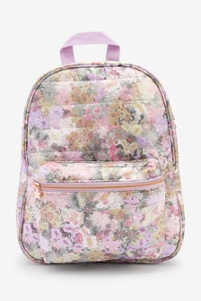 Multi Ditsy Quilted Rucksack