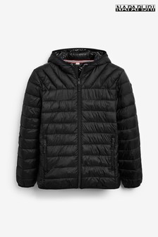 Napapijri Boys Black Aerons Padded Jacket