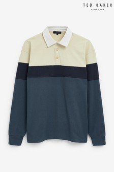 Ted Baker Blok Colour Blocked Rugby Top