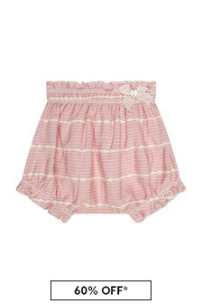 Paz Rodriguez Baby Girls Pink Bloomers