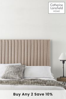 Natural Soho Collection Headboard By Catherine Lansfield