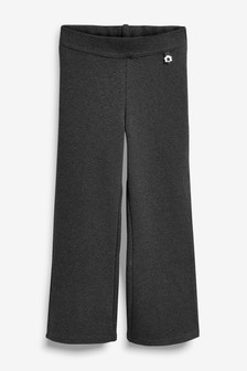 Charcoal Jersey Boot Cut Trousers (3-16yrs)