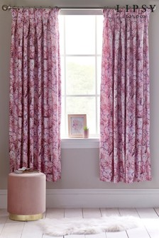 Lipsy Camilla Butterfly Pencil Pleat Curtains
