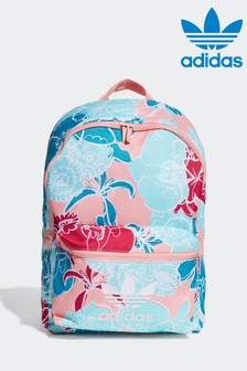 adidas Originals Pink Kids Floral Backpack