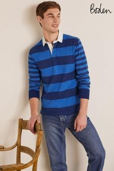 Boden Blue Rugby Shirt