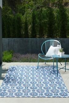 Vinyl Tiles Indoor/Outdoor Rug