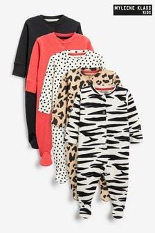 Myleene Klass Baby Sleepsuits 5 Pack