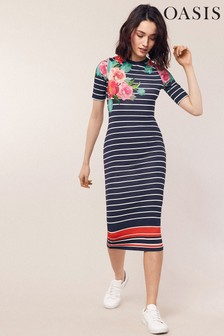 11af54f8e7 Buy Women s dresses Casual Casual Midi Midi Dresses Oasis Oasis from ...