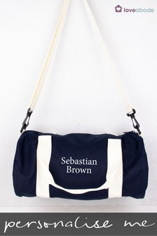 Personalised Barrel Bag by Loveabode