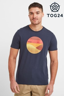 Tog 24 Blue Gradient Mens T-Shirt