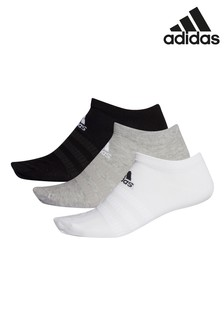 adidas Kids Mixed Low Trainer Socks 3 Pack