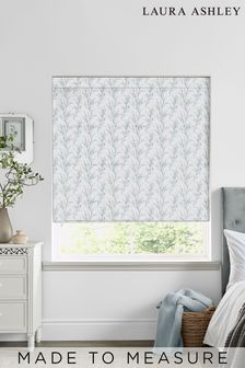 Laura Ashley Blue Pussy Willow Seaspray Made to Measure Roman Blind
