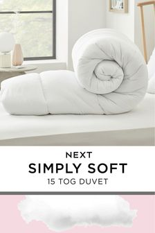 Simply Soft 15 Tog Duvet