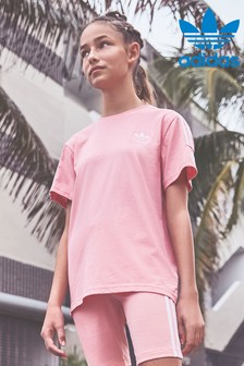 adidas Originals Pink Lock Up Tshirt