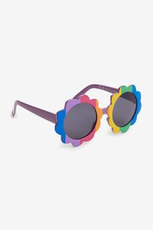 Rainbow Flower Sunglasses