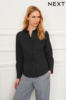 Black Long Sleeve Work Shirt