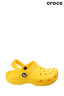 Crocs™ Yellow Kids Classic Slip-On Clogs