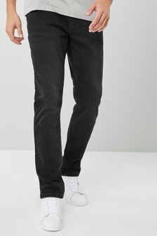 Black Slim Fit Jeans With Stretch