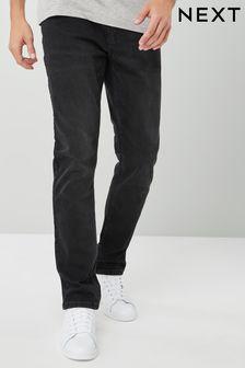 Black Slim Fit Essential Stretch Jeans