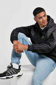 adidas Originals Black Big Trefoil Hoody