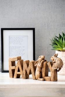 Family Word Block