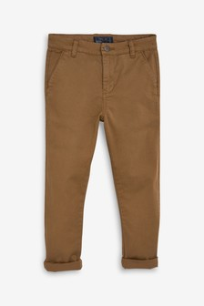Tan Relaxed Fit Chinos (3-16yrs)