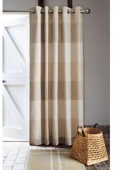 Locksley Woven Stripe Door Curtain