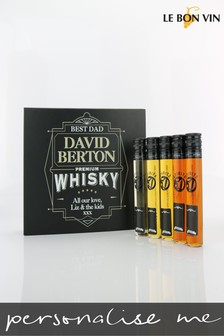 Personalised Malt Whisky Selection 5 x 50ml by Le Bon Vin