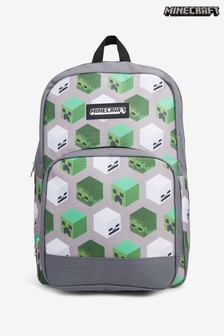 Grey Minecraft Backpack