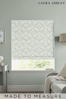 Laura Ashley Sage Parterre Made to Measure Roman Blind