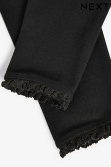 Black 1 Pack Basic Leggings (3mths-7yrs)