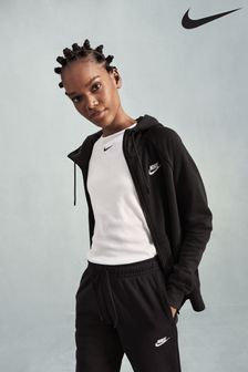 Nike Essential Fleece Zip Through Hoodie