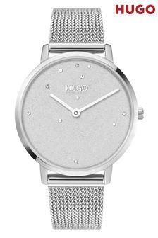 HUGO Dream Stainless Steel Mesh Bracelet Watch