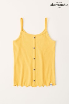 Abercrombie & Fitch Button Through Ribbed Cami