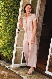 Pink Emma Willis Utility Jumpsuit