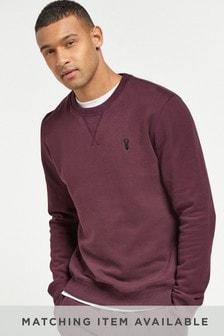 Burgundy Crew Sweatshirt Jersey