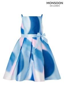 Monsoon Mermaid Marble Hi-Low Dress