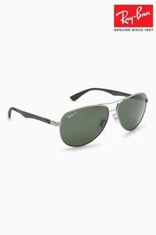Ray-Ban® Polarised Aviator Sunglasses