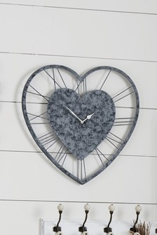 Vintage Effect Metal Wall Clock