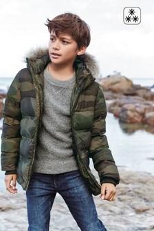 Camouflage  Padded Jacket (3-16yrs)
